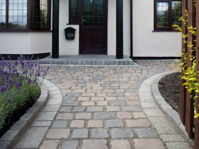 Maidstone Paving Contractors Laying Cobblestones in Maidstone