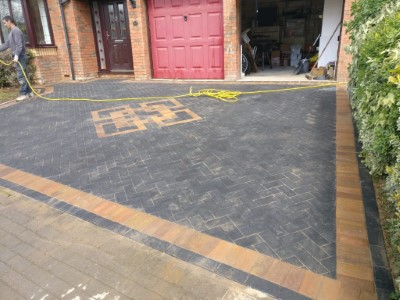 Block paving by MPC in Maidstone
